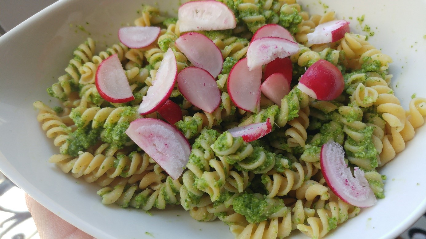 Pesto cru de courgette